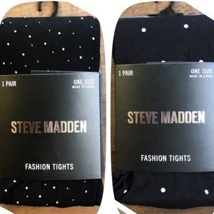 Steve Madden pearl and goldy tight duo